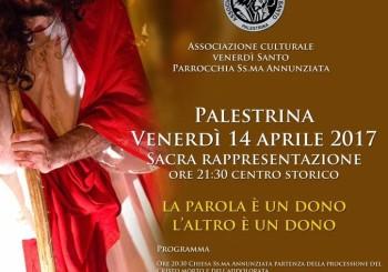 VENERDI' 14 APRILE – SACRA RAPPRESENTAZIONE VENERDI' SANTO –